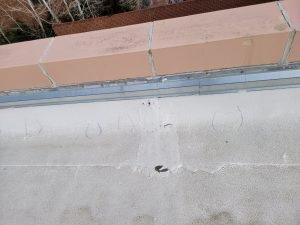 flat roof damage and repair